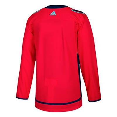 Back (Adidas Washington Capitals Authentic NHL Jersey - Home)
