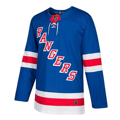 Front (Adidas New York Rangers Authentic NHL Jersey - Home)