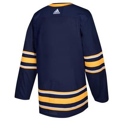 Back (Adidas Buffalo Sabres Authentic NHL Jersey - Home - Adult)