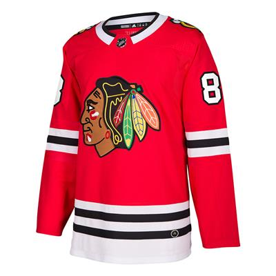 Front (Adidas Chicago Blackhawks Patrick Kane Authentic NHL Jersey - Home - Adult)