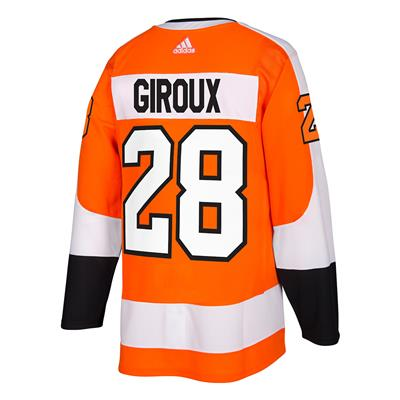 Back (Adidas Philadelphia Flyers Claude Giroux Authentic NHL Jersey - Home)