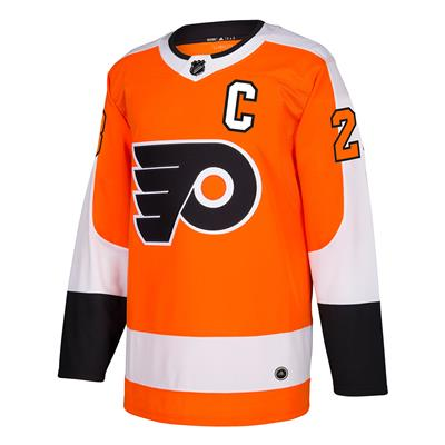 Front (Adidas Philadelphia Flyers Claude Giroux Authentic NHL Jersey - Home)