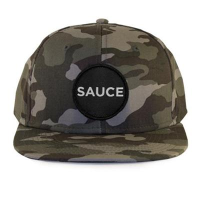 Front (Sauce Hockey Worst Seat Hockey Hat - Camo - Adult)