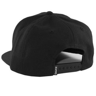 Back (Sauce Hockey Worst Seat Hockey Hat - Black)