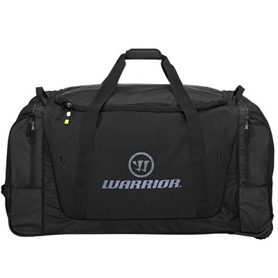 Black/Grey (Warrior Q20 Cargo Wheel Hockey Bag - Large - Senior)