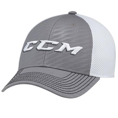 Dark Grey (CCM Performance Mesh Flex Cap - Adult)