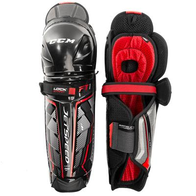 (CCM JetSpeed FT1 Hockey Shin Guards)