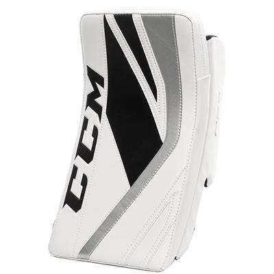 White/Black/Silver (CCM Premier P2.5 Goalie Blocker - Junior)