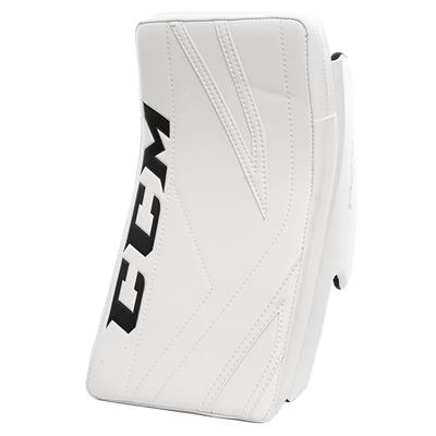 White/White (CCM Premier P2.5 Goalie Blocker - Junior)