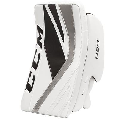 White/Black/Silver (CCM Premier P2.9 Goalie Blocker - Senior)