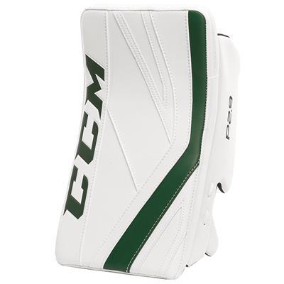 White/Dark Green (CCM Premier P2.9 Goalie Blocker - Senior)