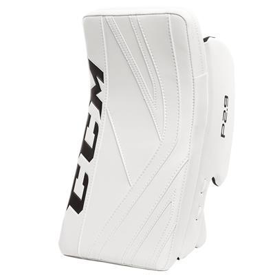 White/White (CCM Premier P2.9 Goalie Blocker - Senior)