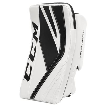 White/Black (CCM Premier II Pro Goalie Blocker)