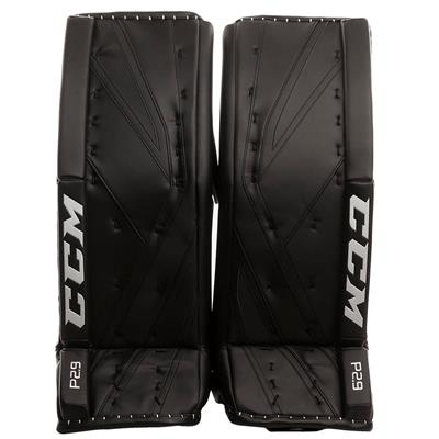 Black/Black (CCM Premier P2.9 Goalie Leg Pads - Senior)