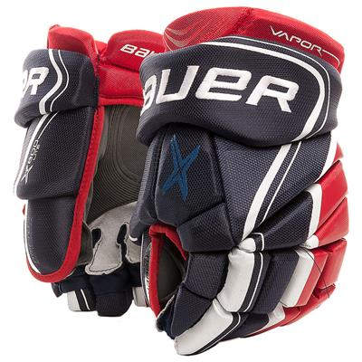 Navy/Red/White (Bauer Vapor X800 Lite Hockey Gloves)