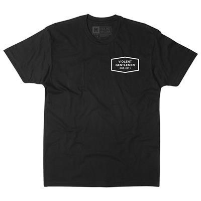 Front (Violent Gentlemen Classic Tee - Black)