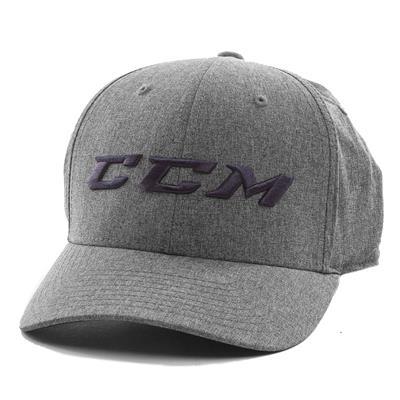 Grey/Navy (CCM Flex Fit Exclusive Cap - Adult)