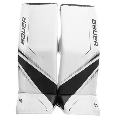 White/Black (Bauer Supreme 2S Pro Goalie Leg Pads - Senior)