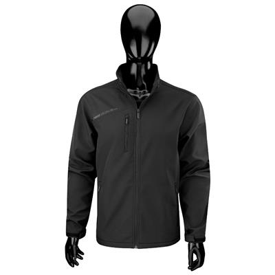Black (Bauer Team Softshell Hockey Jacket - 2017 - Senior)