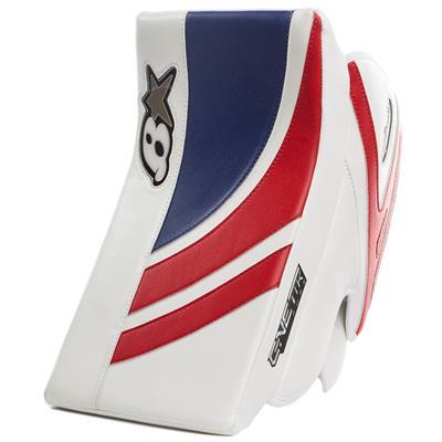 White/Blue/Red (Brians GNETiK Pure™ Goalie Blocker - Junior)