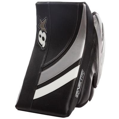 Black/White/Silver (Brians GNETiK Pure Goalie Blocker)