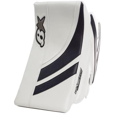 White/Navy (Brians GNETiK Pure Goalie Blocker)
