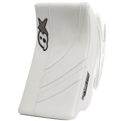 White/White (Brians GNETiK Pure Goalie Blocker)