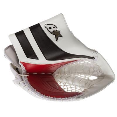 White/Black/Red (Brians GNETiK Pure Goalie Catch Glove - Junior)