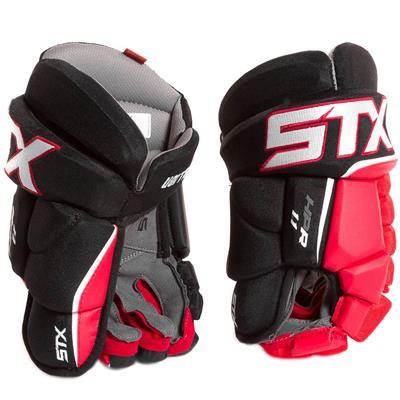 Black/Red (STX Stallion HPR 1.1 Hockey Gloves)