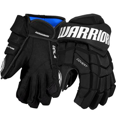 Black (Warrior Covert QRL4 Hockey Gloves)