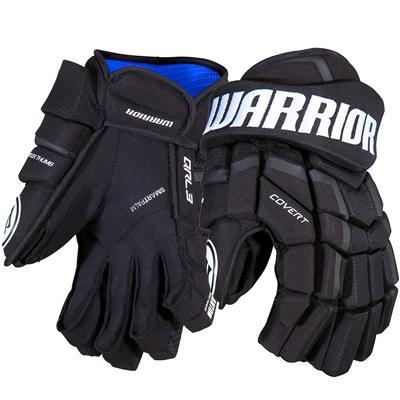 Black (Warrior Covert QRL3 Hockey Gloves)
