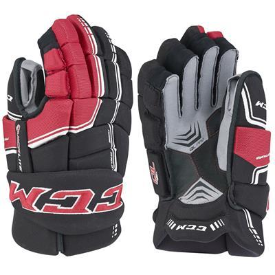 (CCM QuickLite Hockey Gloves)