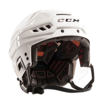 White (CCM Fitlite FL500 Hockey Helmet)