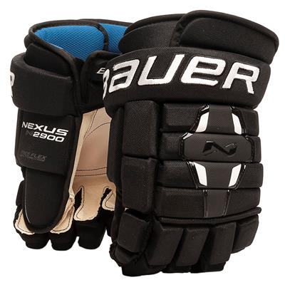 Black (Bauer Nexus N2900 Hockey Gloves)