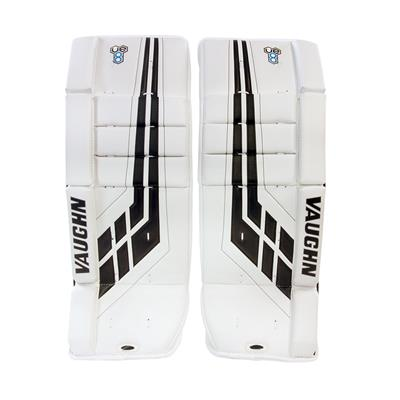 White/Black (Vaughn Velocity VE8 Youth Goalie Leg Pads - Youth)