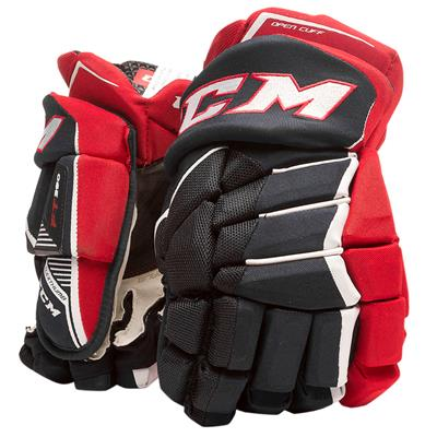 Navy/Red/White (CCM JetSpeed FT390 Hockey Gloves)