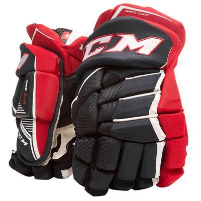 Navy/Red/White (CCM JetSpeed FT390 Hockey Gloves - Junior)