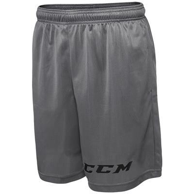 Grey (CCM Team Mesh Hockey Shorts - Mens)