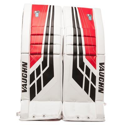 White/Black/Red (Vaughn Velocity VE8 XFP Goalie Leg Pads)