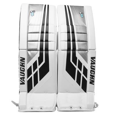 White/Black/Silver (Vaughn Velocity VE8 XFP Goalie Leg Pads)