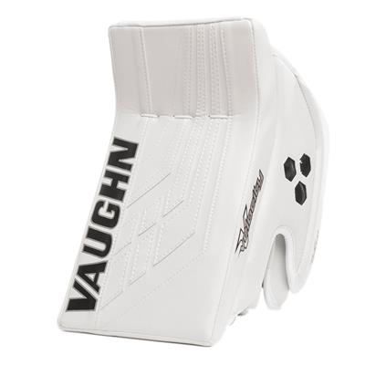 White/White (Vaughn Velocity VE8 XFP Goalie Blocker - Junior)
