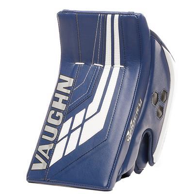 Blue/White (Vaughn Velocity VE8 XFP Goalie Blocker - Intermediate)