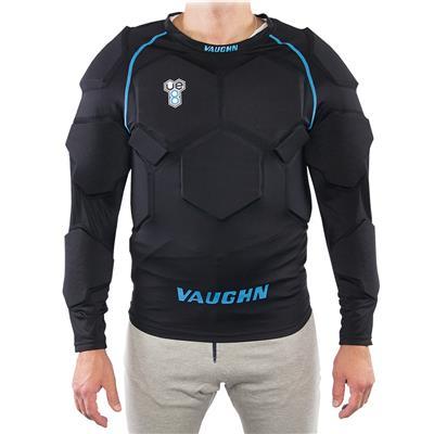 (Vaughn VE8 Padded Goalie Shirt - Senior)