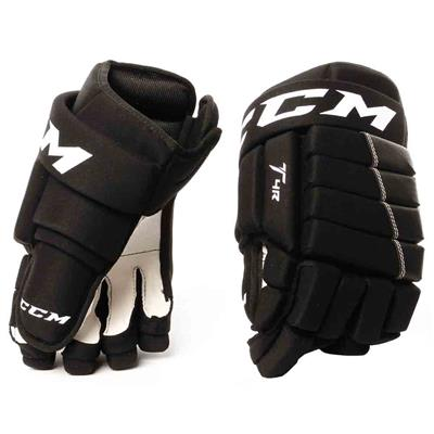 Black (CCM 4R Hockey Gloves)