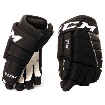 Black (CCM 4R Hockey Gloves)