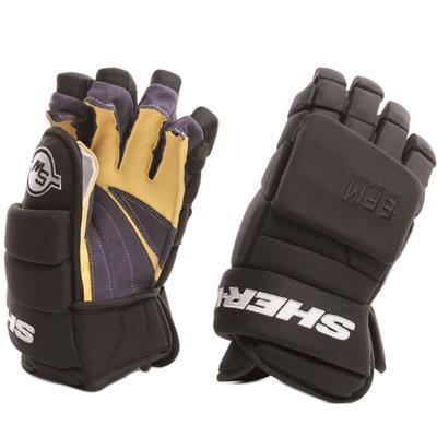 Black (Sher-Wood BPM 120S Hockey Gloves - Senior)