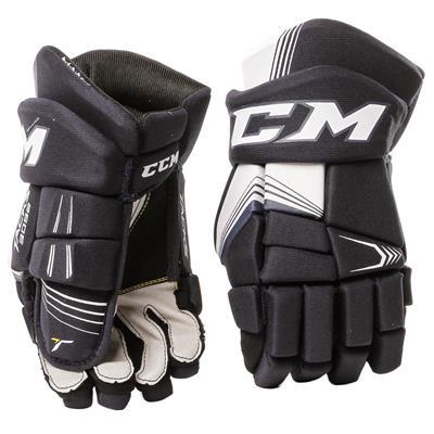 Black (CCM Tacks 3092 Hockey Gloves - Junior)