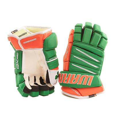 Irish (Warrior Alpha Pro Irish Hockey Gloves - Senior)