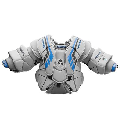 Grey/Black/Blue (Vaughn Velocity VE8 XFP Goalie Chest and Arm Protector)