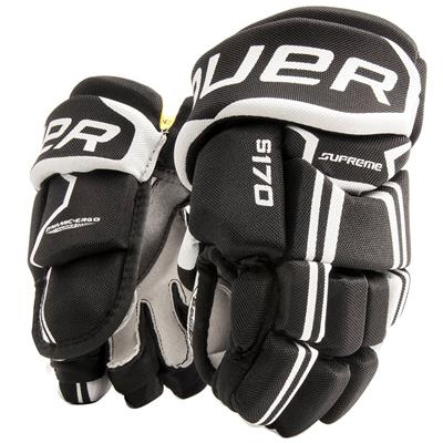 (Bauer Supreme S170 Hockey Gloves - 2017 - Youth)
